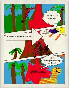 john volcano comic