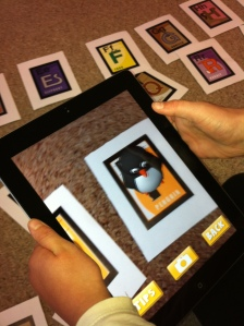 Augmented Reality Fun! Too Cool!