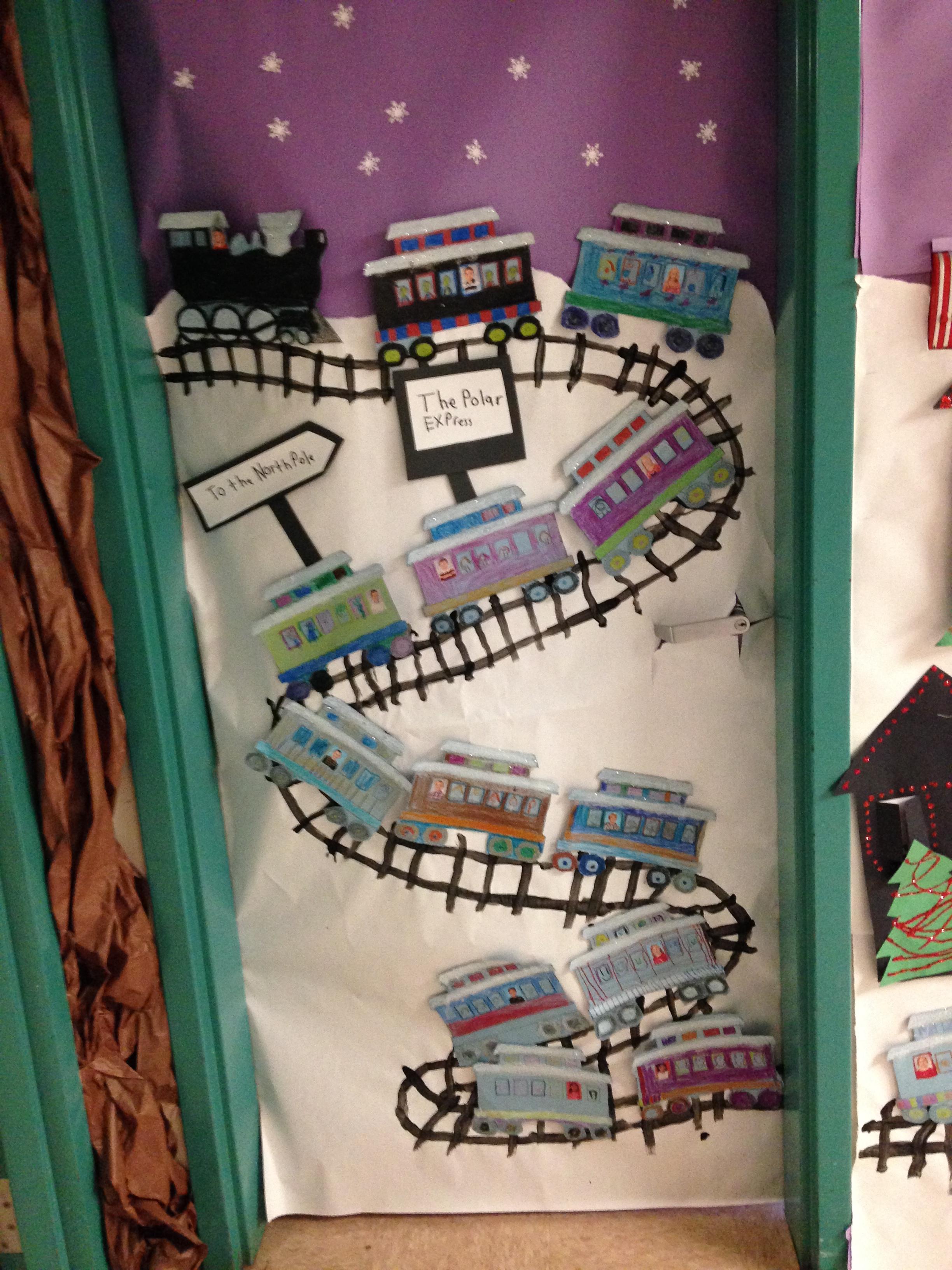 Classroom Train Decor ~ Polar express mrs anton s class